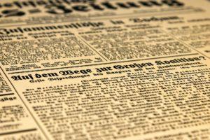 scrivere una tesi sul giornalismo